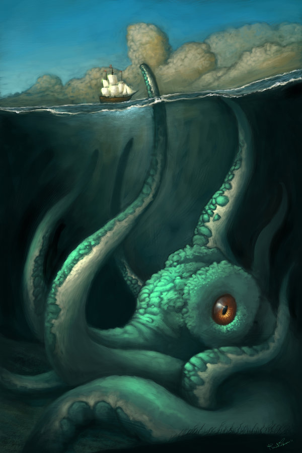 sea monster | TENTACLES DAILY